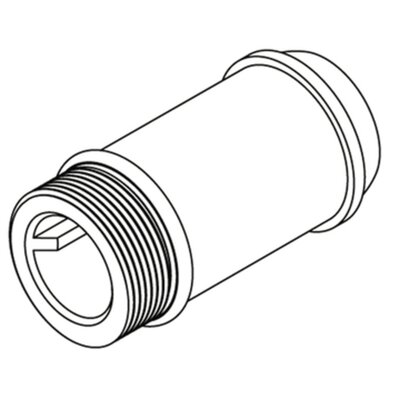 Commercial 2-1/4 Delany Supply Extension Nipple