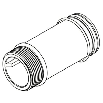 Commercial 2-1/8 Supply Extension Nipple