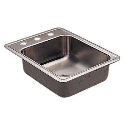 Commercial 22 x 17 20 Gauge Single Bowl Kitchen Sink
