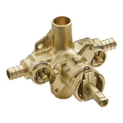Commercial Valve with Integral Stops Connection: CC, Finish: N/A or Unfinished