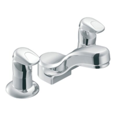M-Press Double Handle Widespread Bathroom Faucet