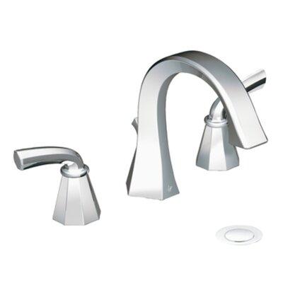 Felicity Double Handle Widespread High Arc Bathroom Faucet Finish: Chrome