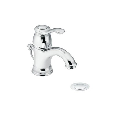 Kingsley Single hole Single Handle Bathroom Faucet with Drain Assembly Finish: Chrome