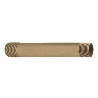 6 Straight Shower Arm Valve Finish: Antique Bronze