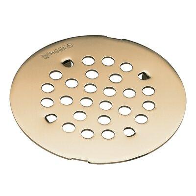 Kingsley 4.25 Grid Shower Drain Installation: Snap-In, Finish: Polished Nickel