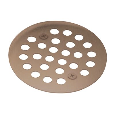 Kingsley Grid Shower Drain Finish: Oil Rubbed Bronze, Installation: Screw-In