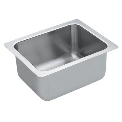 19.38 x 17.38 x 11 Single Bowl Commercial Kitchen Sink with No Holes