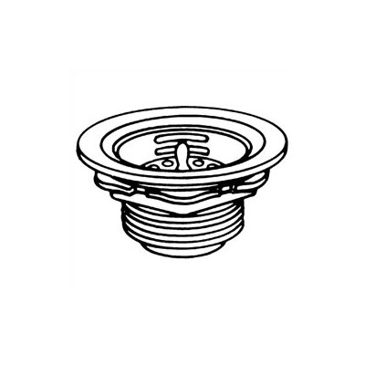 Basket Strainer with Drain