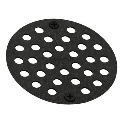Moen� 4 Grid Shower Drain Finish: Wrought Iron