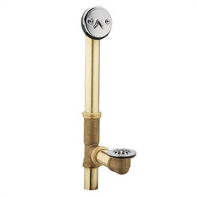Moen� 1.5 Leg Tub Drain Finish: Brushed Nickel