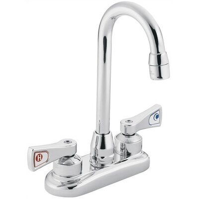 M-Dura Double Handle Centerset Kitchen Faucet in , 9.5