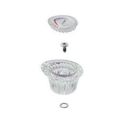 Chateau Knob Handle Kit for Single Handle Bathroom Sink Faucet