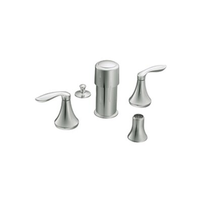 Eva Double Handle Vertical Spray Bidet Faucet Finish: Chrome