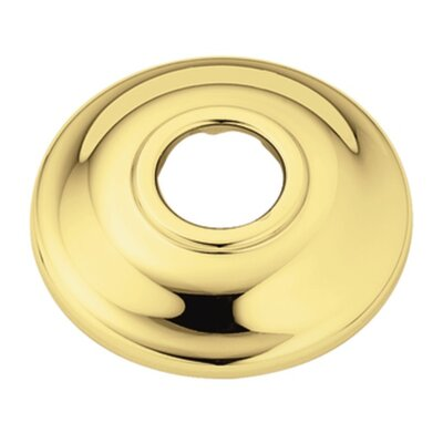 Shower Head Flange Finish: Polished Brass