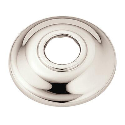 Shower Head Flange Finish: Polished Nickel