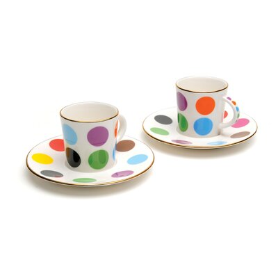 French Bull Multidot Espresso Cup Set