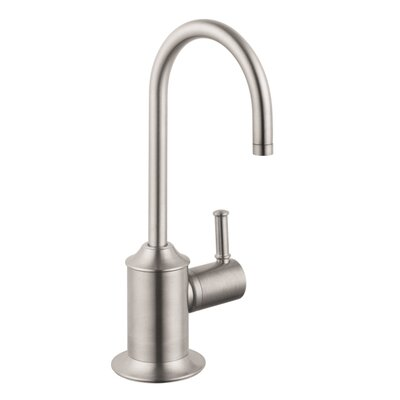 Talis C One Handle Deck Mounted Cold Water Dispenser Faucet Finish: Steel Optik