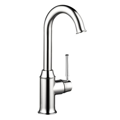 Talis C One Handle Deck Mounted Kitchen Faucet Finish: Chrome