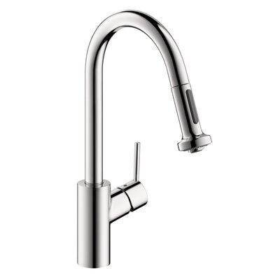 Allegro E Pull Down Single Handle Kitchen Faucet Finish: Chrome