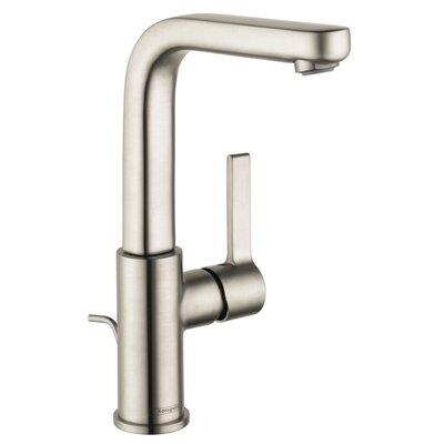 Metris S Single Handle Kitchen Faucet Finish: Brushed Nickel