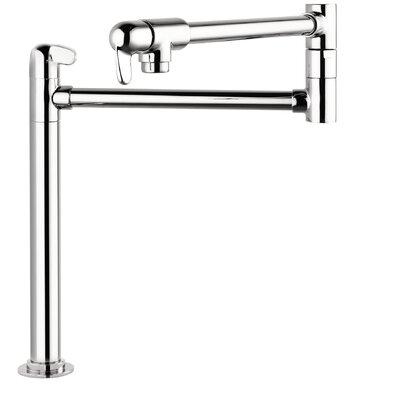 Allegro E Single Handle Deck Mounted Pot Filler Faucet Finish: Chrome