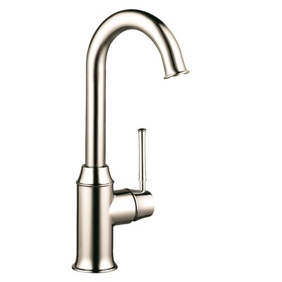 Talis C One Handle Deck Mounted Kitchen Faucet Finish: Polished Nickel
