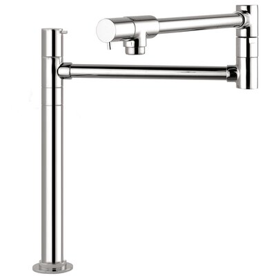 Talis S Single Handle Deck Mounted Pot-Filler Faucet Finish: Chrome