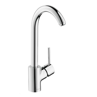 Talis S Single Handle Deck Mounted Kitchen Faucet Finish: Chrome