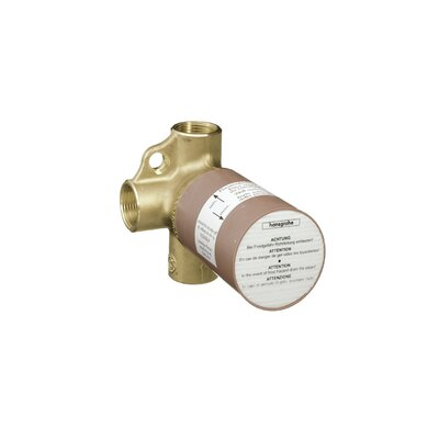 Axor Rough Trio Shut Off and Diverter Valve