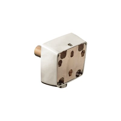 Raindance Wall Outlet Adapter with Hose Connection Finish: Brushed Nickel