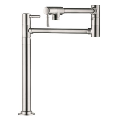 Talis C Pot Filler Finish: Steel Optik
