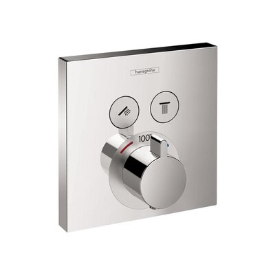 Select E Thermostatic Trim 2 Function Finish: Chrome