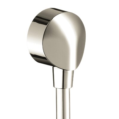 Showerpower Wall Outlet with Vacuum Breaker Finish: Polished Nickel