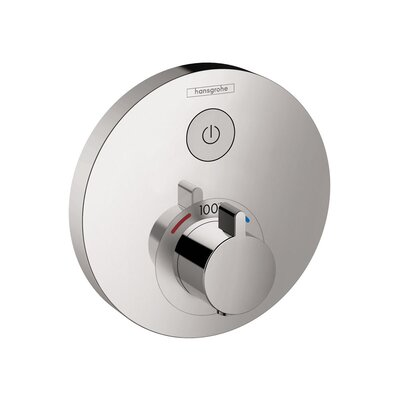 Select E Thermostatic Trim 1 Function Finish: Chrome