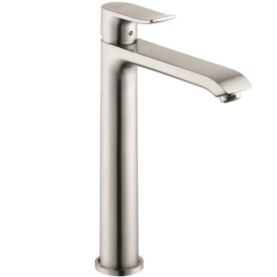 Metris Single Single Handle Single Hole Standard Bathroom Faucet Finish: Brushed Nickel