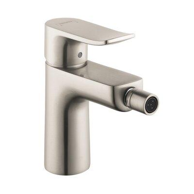 Metris E Single Handle Bidet Faucet Finish: Brushed Nickel