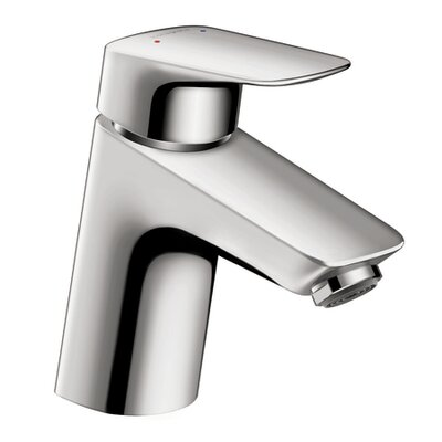 Logis Faucet Single Handle with Drain Assembly Finish: Chrome