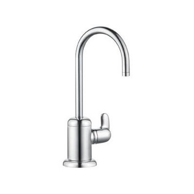 Allegro E Cold Water Dispenser with Swivel Spout Finish: Steel Optik