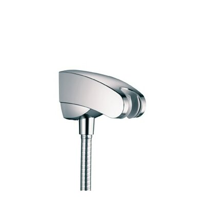 Showerpower Porter E Holder with Outlet Finish: Polished Nickel