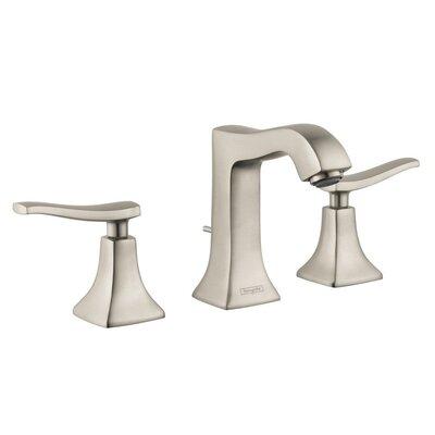 Metris C Two Handles Widespread Standard Bathroom Faucet Finish: Polished Nickel