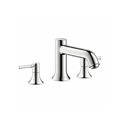 Talis C Two Handles Widespread Standard Bathroom Faucet Finish: Brushed Nickel