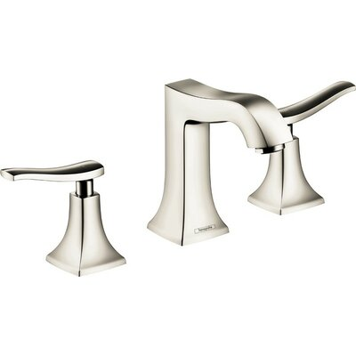 Metris C Two Handles Widespread Standard Bathroom Faucet Finish: Brushed Nickel