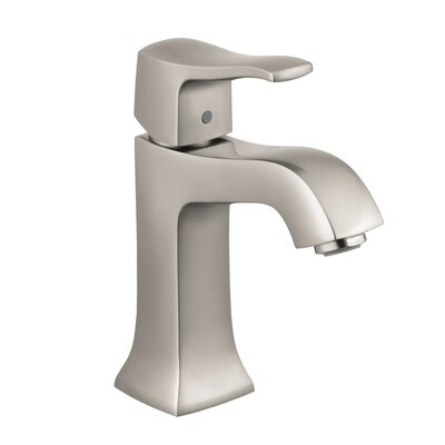 Metris C Single Handle Single Hole Standard Bathroom Faucet Finish: Brushed Nickel