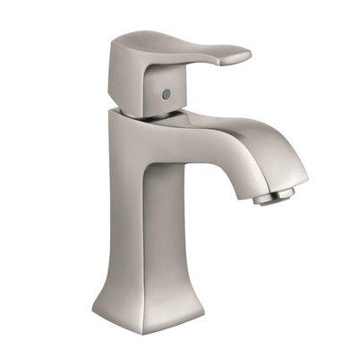 Metris C Single Handle Single Hole Standard Bathroom Faucet Finish: Brushed Nickel