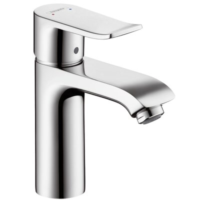 Metris Single Handle Single Hole Standard Bathroom Faucet Finish: Chrome