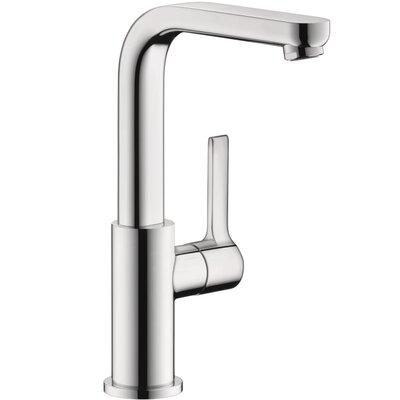 Metris S Single Handle Kitchen Faucet Finish: Chrome