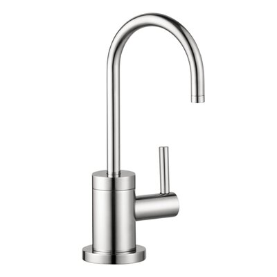Talis S One Handle Deck Mounted Cold Water Dispenser Faucet Finish: Chrome
