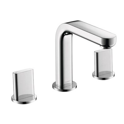 Metris Double Handles Widespread Standard Bathroom Faucet Finish: Chrome