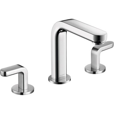 Metris S Two Handles Widespread Standard Bathroom Faucet Finish: Chrome