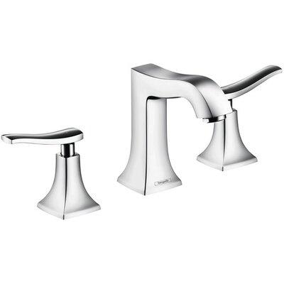 Metris C Two Handles Widespread Standard Bathroom Faucet Finish: Chrome